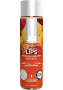 Jo H2o Water Based Flavored Lubricant Peachy Lips 4oz