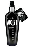 Moist Silicone Personal Lubricant 4 Ounce Pump