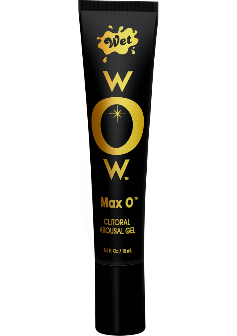 Wow Max O Clitoral Arousal Gel .5 Ounce